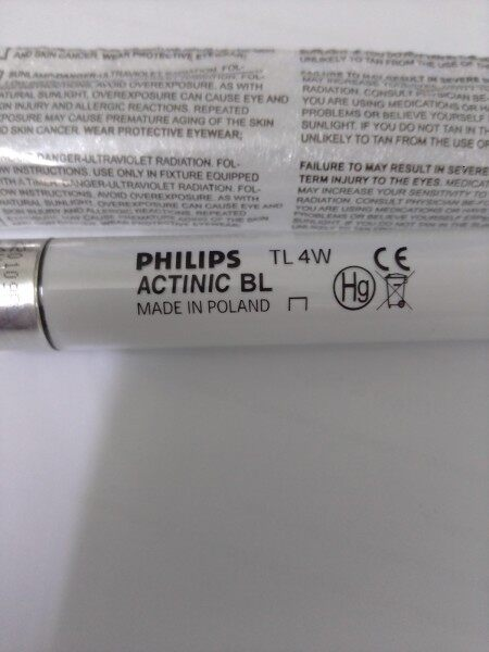 Philips TL 4W ACTINIC BL (POLAND) F4T5 F4T5\BL 4W Replacement UV tube for mosquito trap insect killer