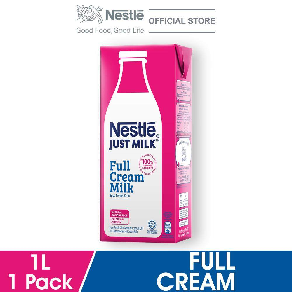 Nestle Just Milk Full Cream 1l By Nestle Flagship Store.