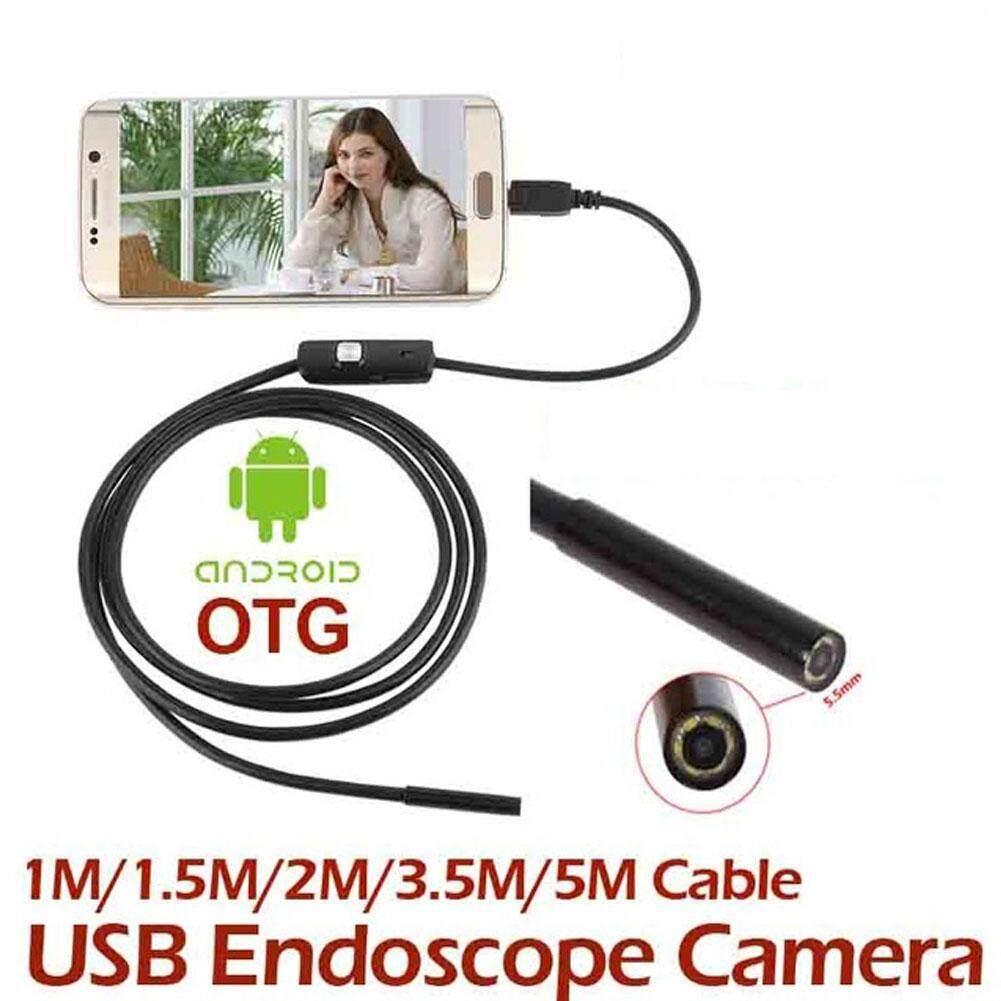 3.5M 7MM IP67 Android Endoscope Inspection USB Borescope LED Tube Snake Camera