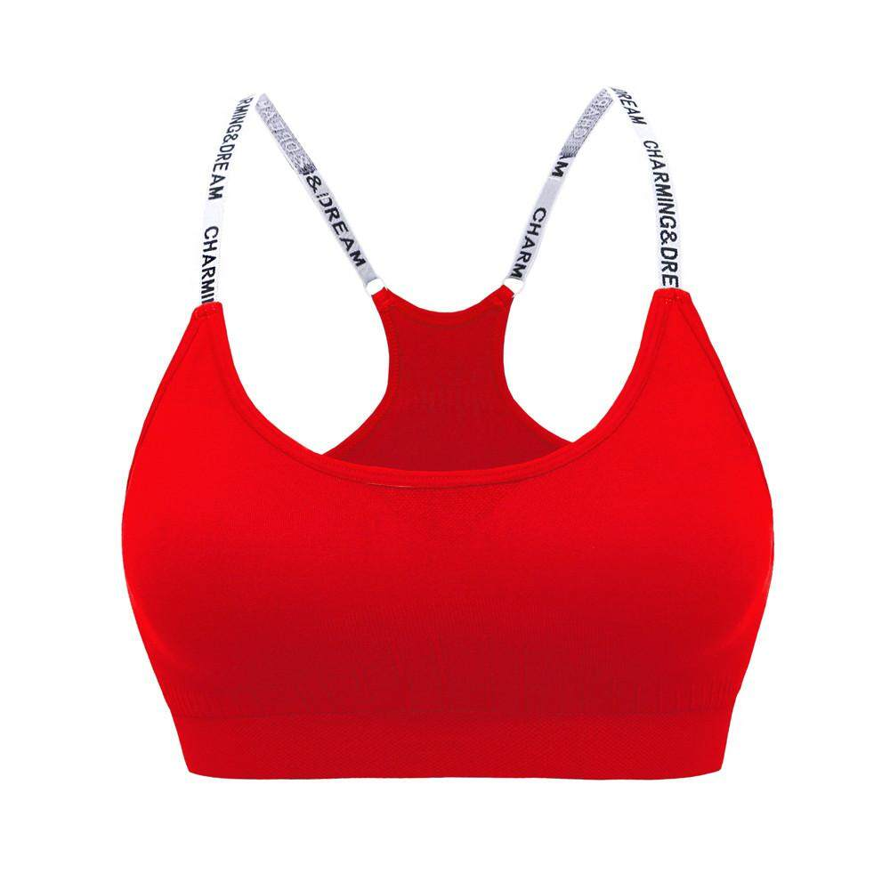 Hammshop Womens High-Strength Sports Yoga Running Bra High Impact Pocket Yoga Bras By Hammshop.