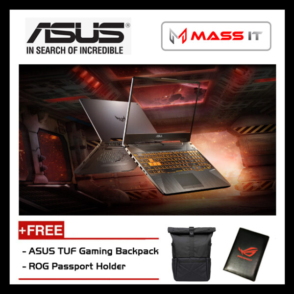 ASUS FA506I-VAL118T TUF Gaming (Ryzen 7-4800H/RTX2060 6GD6/16GB D4 3200MHz/1TB NVMe M.2 SSD/15.6 IPS 144hz FHD/WIN10/2 Years Warranty) Malaysia