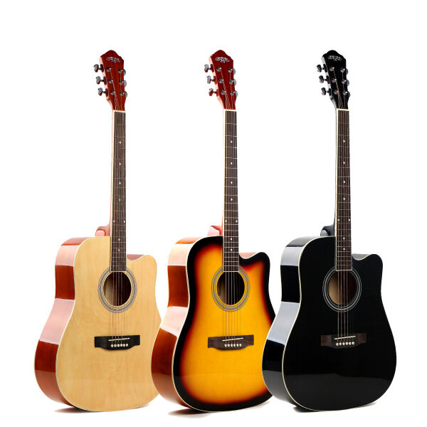41 inch, Entry acoustic guitar / Gitar  package Acoustic Acoustic Guitar Introduction Acoustic Guitar Malaysia