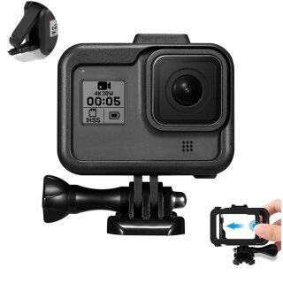 Ốp Khung Bảo Vệ Cho GoPro Hero 8 Vỏ Máy Quay, Camera Hành Động Màu Đen Cho GoPro Hero 8 thumbnail
