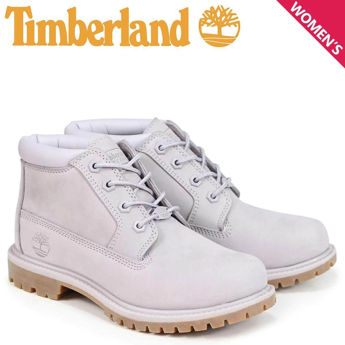 Sepatu Boot Timberland Nellie Lightweight Double A1S7R W Lampu Lebar Abu-abu 9ed3fdd621