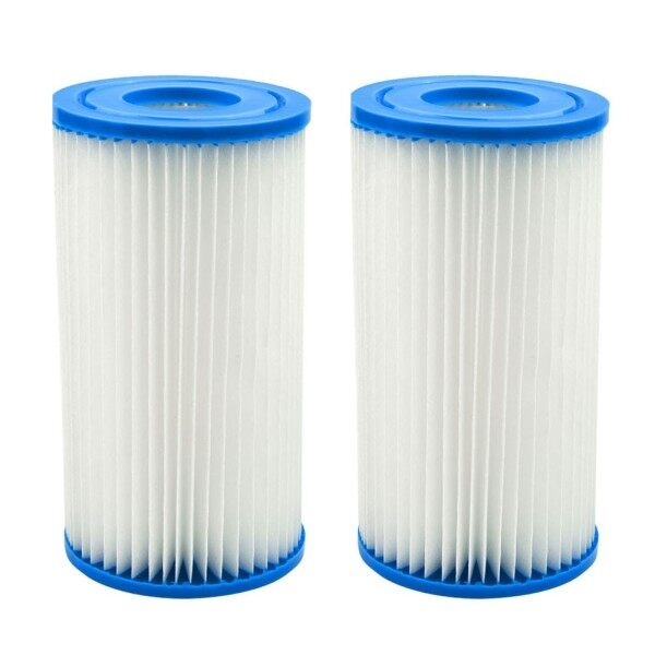 2 X Filter Cartridges For Intex Easy-Set Type A Or C Swimming Pool Accessories