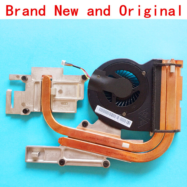 New notebook CPU fan with heatsink radiator copper tube module for LENOVO IdeaPad Y510P Y500 independent Replace Accessories Malaysia