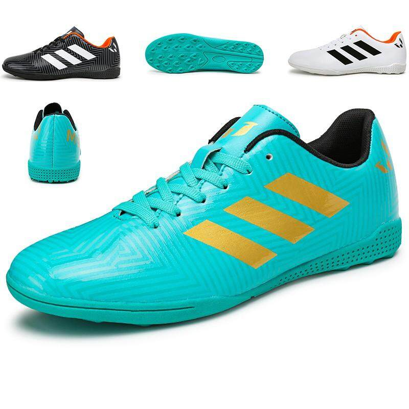 3a4fae8f9 Men Outdoor Soccer Shoes Turf Indoor Soccer Futsal Shoes Kasut Bola Sepak