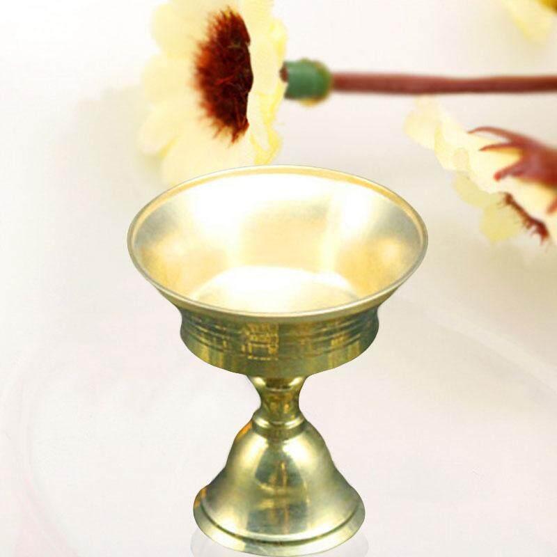 Đèn Phật Giáo Đồng Nguyên Chất Đứng Đồng điềm lành Giàu Có Màu Sắc Vàng