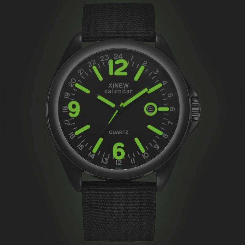 Military Mens Quartz Army Watch Black Dial Date Luxury Sport Wrist Watch Malaysia