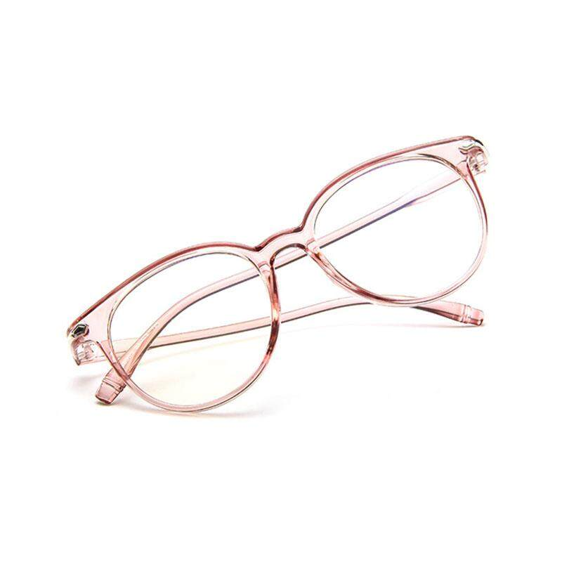 Ultralight Kacamata Biasa Jelly Warna Lensa Retro Warna Solid Transparet Kacamata Kacamata Lucu untuk Mata dengan Kotak