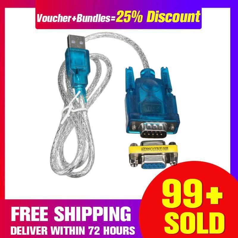 【free Pengiriman + Super Deal + Terbatas Offer】80cm Usb Untuk Rs-232 9-Pin Db9 Serial Kabel W/adaptor Lubang Pendukung Windows 8 By Freebang.