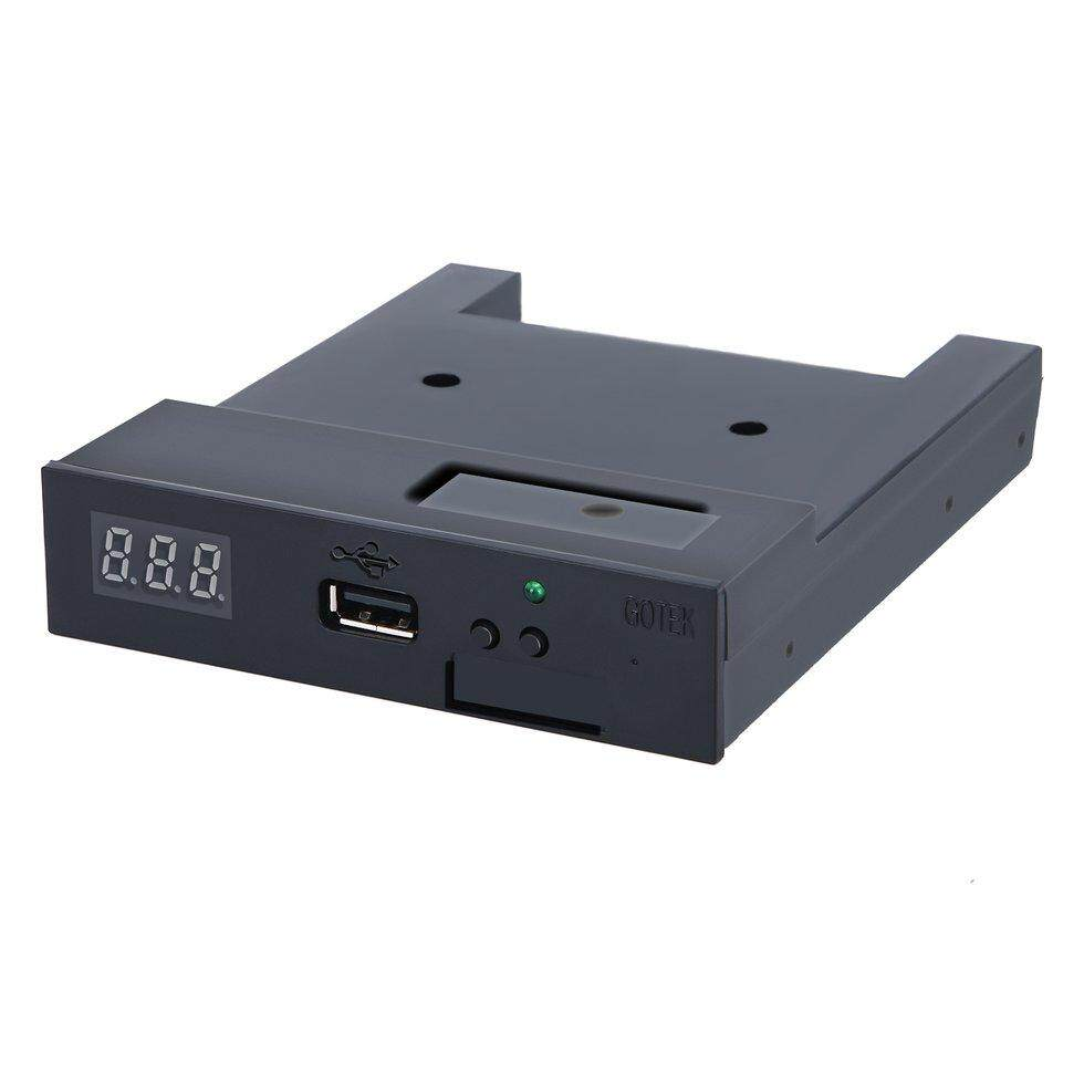 Goft 3.5 144mb Upgrade Floppy Drive To Usb Flash Disk Drive Emulator + Cd Screws By Giftforyou.