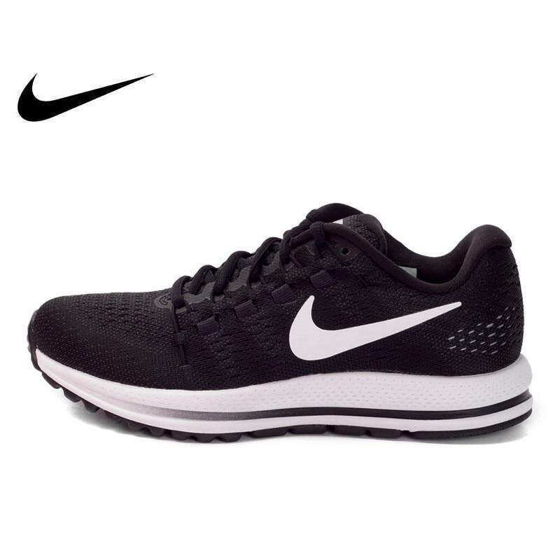 best loved 22182 a8639 Original NIKE Summer Breathable AIR ZOOM VOMERO 12 Women s Running Shoes  Sneakers Sports Outdoor Jogging Comfortable