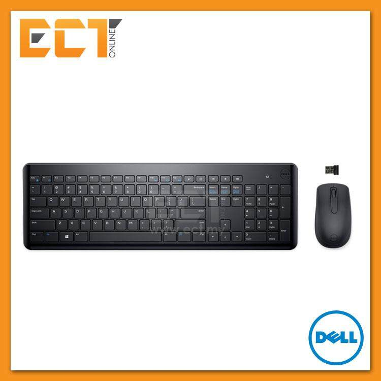 Genuine Dell KM117 Multimedia Wireless Chiclet Keyboard + Mouse (Combo) Malaysia
