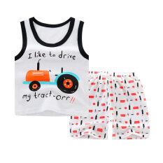 Bộ Quần Áo Trẻ Em I Love Daddy & Mummy Bộ Vest Bé Trai Bộ Quần Short Cotton Nguyên Chất Bộ Quần Áo 6-36 Tháng
