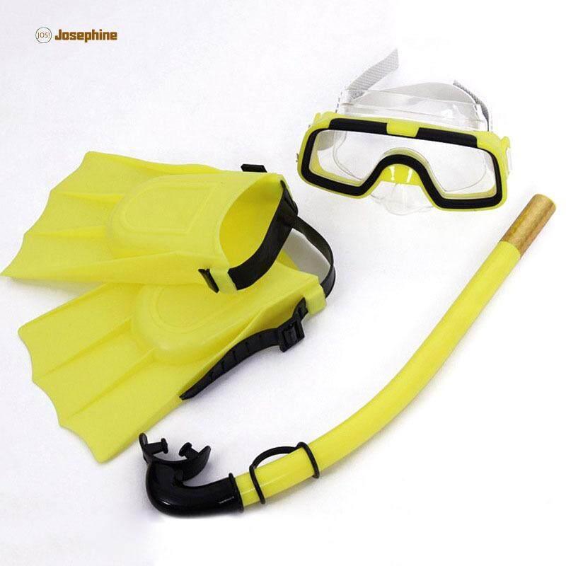 Jos Trẻ Em Mặt Nạ Lặn Bộ Chống Sương Mù Kính Bơi Mặt Nạ Ống Thở Vây Bộ Cho Trẻ Em Bé Trai Bé Gái Giá Sốc Nên Mua