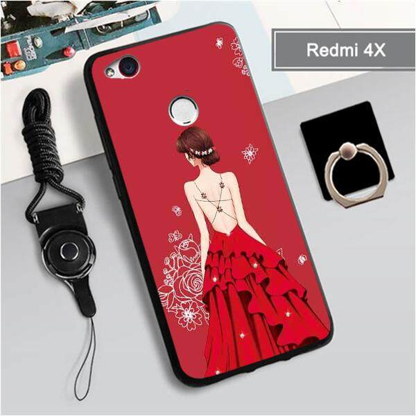 For Xiaomi redmi4x New Cartoon Lovely wedding girls TPU Soft Case Fashion Phone Case Cover Casing