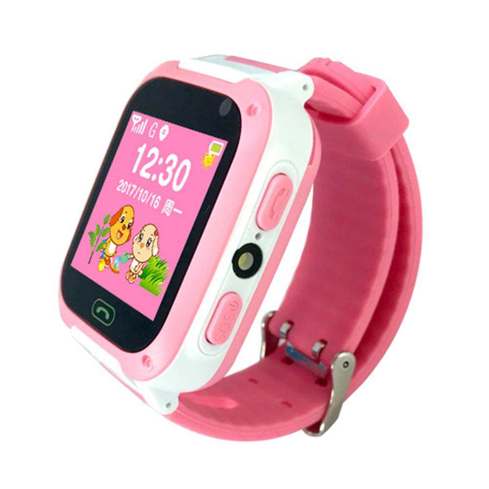 [YP-t5r4ty5y.MY]Children's Smart Watch Waterproof Wristband SOS LBS Base Station Positioning Kid Call Phone for IOS Android