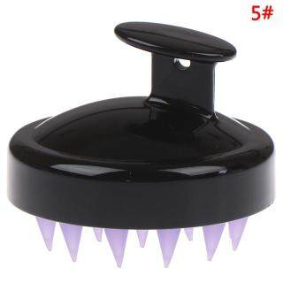 Bàn chải mát xa da đầu làm từ silicon giúp tẩy tế bào chết khi gội đầu - INTL thumbnail