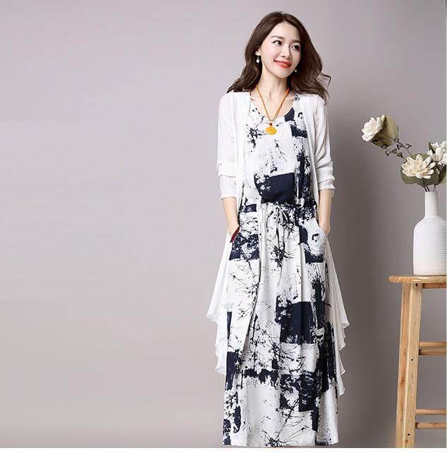 fd803eb19fac Bbala 2019 NEW arrival long sleeve Floral print dress Elegant Slim A-Line  Vintage party