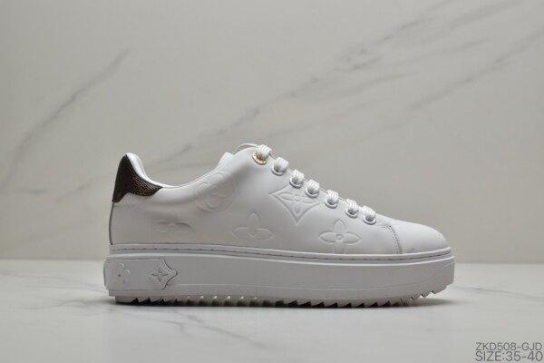 Giá bán L ouis Vuitton casual sports womens shoes Rivoli Low Sneaker Rivoli series