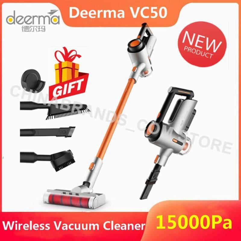 [100% Genuine + 15000Pa] Deerma VC50 Household Handheld Wireless Vacuum Cleaner Singapore