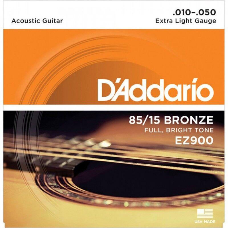 Daddario EZ900 85/15 BRONZE 10-50 Acoustic Guitar Strings Malaysia