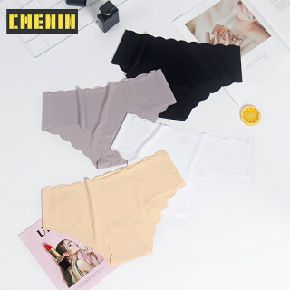 CMENIN Girls Phụ nữ Ice Silk Quần lót Tóm tắt Quần lót ren gợi cảm Eo thấp Nữ Đồ lót Panty Ladies Quần lót mềm P0109 thumbnail