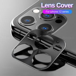 Ốp Lưng Cho Iphone 13 Vỏ Bảo Vệ Ống Kính Máy Ảnh Kim Loại Phía Sau Cho Apple Iphone 13 Pro Max 13 Mini Coque Fundas Capas thumbnail