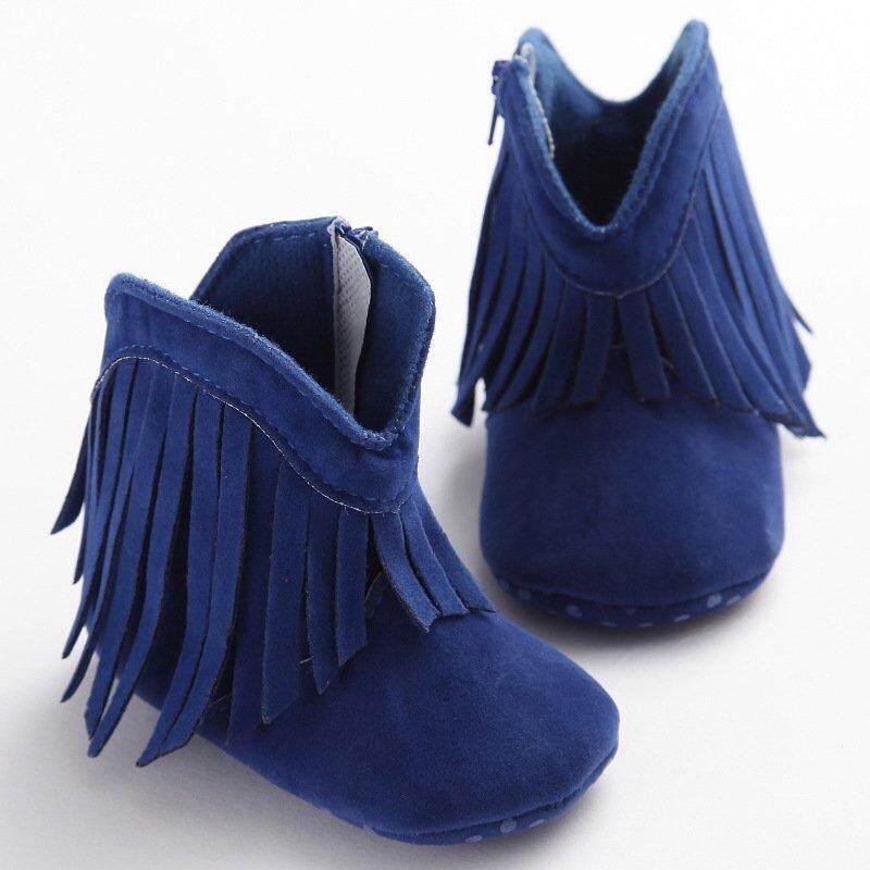 94470b5e7 Baby 0-18 Monts Winter Moccasin Boots Girl Boy Kids Tassle Fringe Shoes  Infant Soft