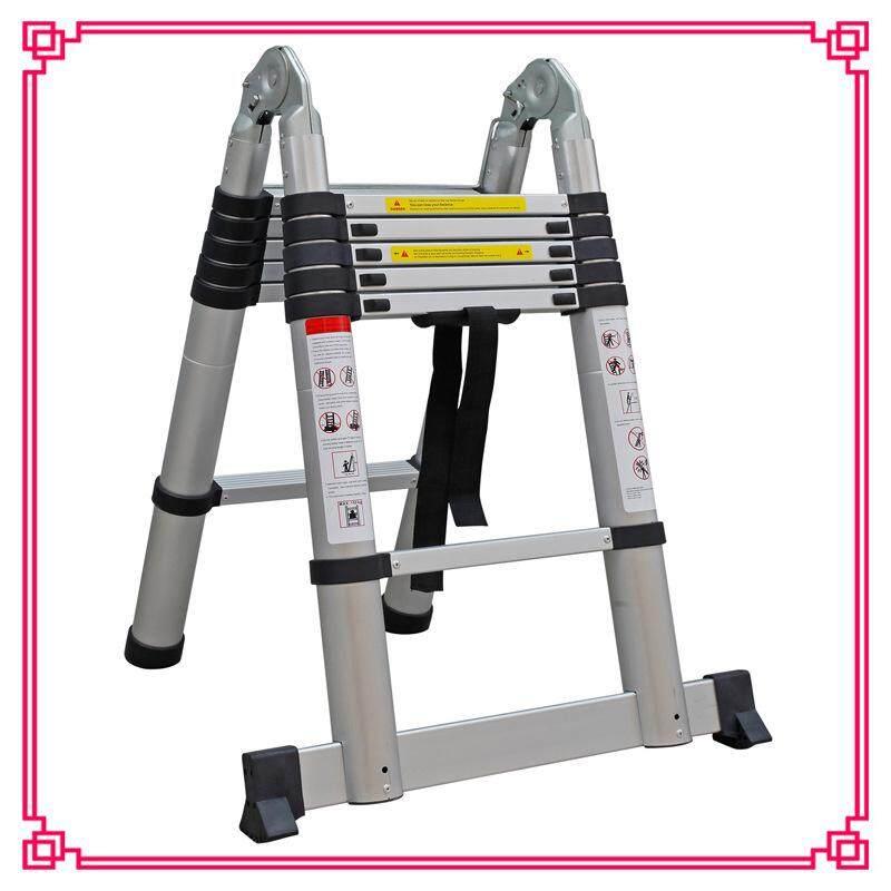 1.6m+1.6m Aluminum alloy extension ladder Portable folding aluminum ladder Telecom power engineering ladder