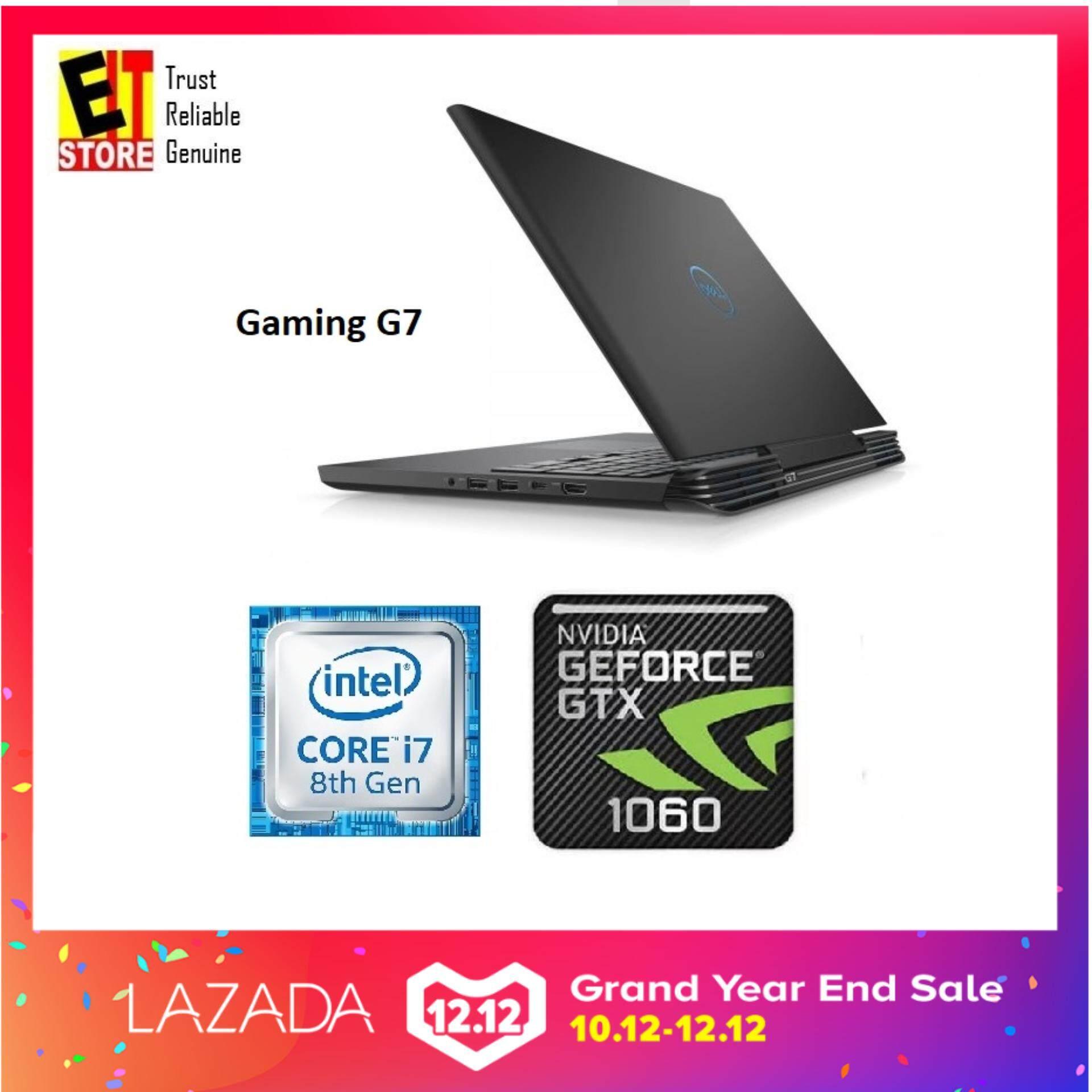 DELL GAMING G7 BLACK (I7-8750H/16GB/1TB+256GB SSD/6GB GTX1060/15.6 FHD/W10/2YRS) - G7-87116GFHD-W10-1060 Malaysia