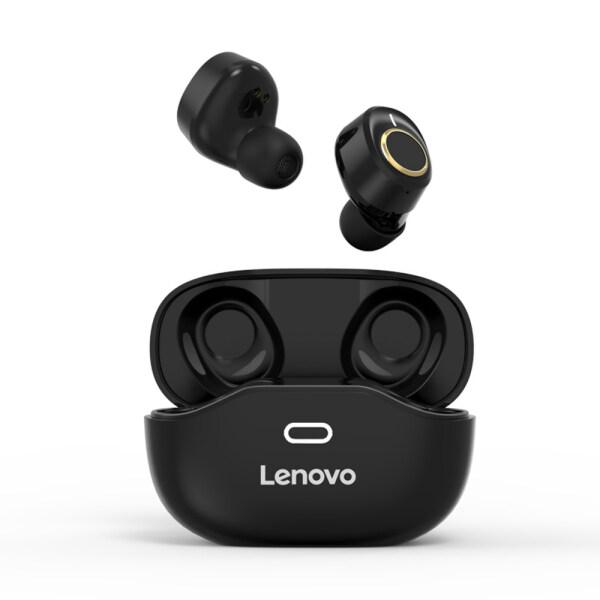 Tai nghe âm thanh nổi không dây thực sự Lenovo X18 Tai nghe không dây BT 5.0 Điều khiển cảm ứng Thể thao chống thấm mồ hôi Trong tai nghe nhét tai có Mic Siri Trợ lý giọng nói cho Android iOS