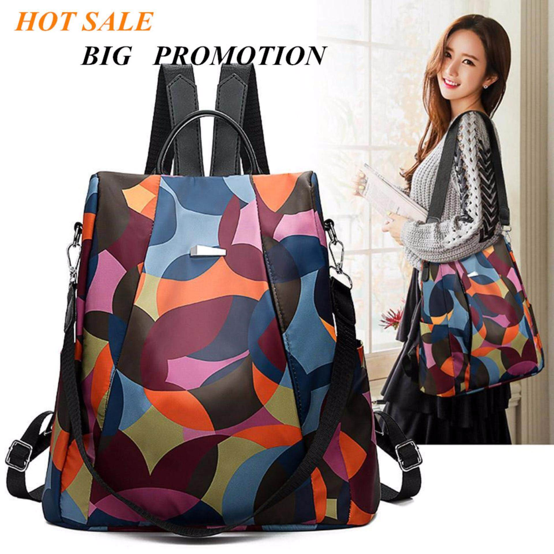 393345f892 Oxford Backpack Women Anti Theft Girls Travel Daypack Shoulder Schoolbags