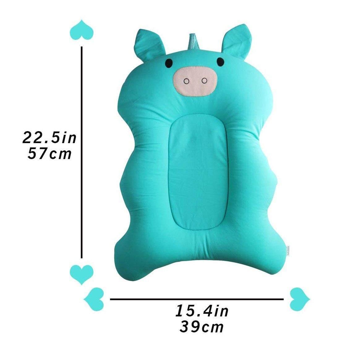 ลอยเด็กอ่อนหมอนสปาและ Lounger ทารกแรกเกิด Pad อ่างหมอนอาบน้ำ (สีเขียว) By Reasin Store.