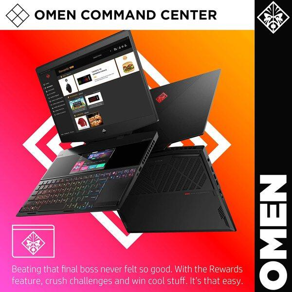 HP OMEN X 2S 2019 15-in Gaming Laptop with Secondary Touchscreen Display, Intel i7-9750H, NVIDIA RTX 2080 with Max-Q 8 GB, 16 GB RAM, 1 TB SSD, VR/MR Ready, Windows 10 Home Malaysia