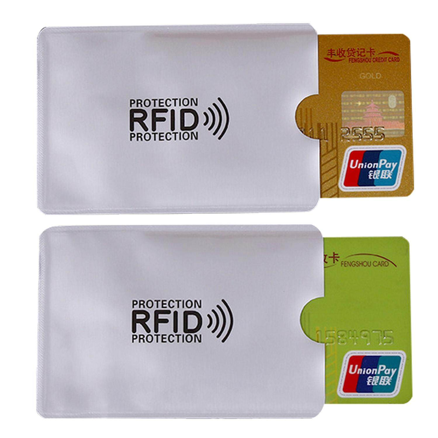 20 RFID Blocking Signal Anti Theft Credit Debit Card Holder Protector for Wallet