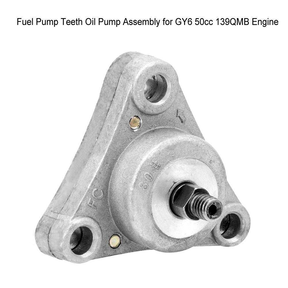 Fuel Pump Teeth Oil Pump Assembly for GY6 50cc 139QMB Engine