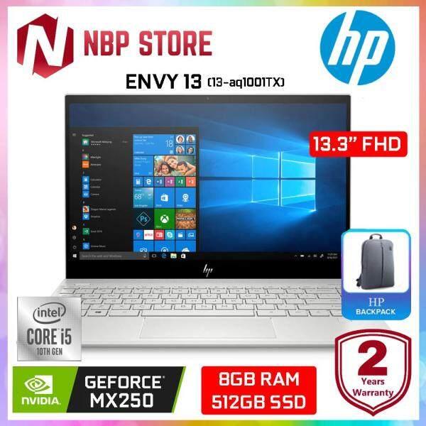 HP ENVY 13-aq1001TX 13.3  FHD IPS Laptop Silver ( i5-10210U 8GB 512GB MX250 2GB W10 ) Malaysia