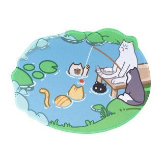Tấm Lót Chuột Mèo Dễ Thương Tấm Lót Chuột Game Thủ Hoạt Hình Anime Tấm Lót Bàn Văn Phòng Dày Chống Trượt Tấm Lót Chuột Máy Tính Xách Tay Phụ Kiện Chơi Game Trên PC thumbnail