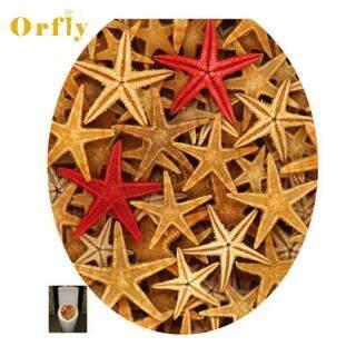 Orfly Miếng Dán Tường Bồn Cầu 3D Giấy Dán Tường Nghệ Thuật Có Thể Tháo Rời Đề Can Phòng Tắm Trang Trí Phòng Tắm Tranh Tường Tự Làm thumbnail