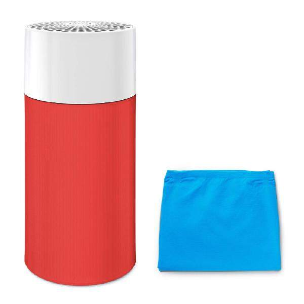 [Online limited model] blue air air purifier Blue Pure 411R 13-mat pre-filter two sets (blue + red) Particle + Carbon 360 degrees suction pollen 201436-R Singapore
