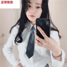 . Cà Vạt phong cách mới đàn ông và phụ nữ mát mẻ ngắn cà vạt nhỏ phong cách Đại Học Retro Harajuku Cà Vạt hẹp