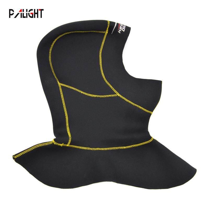 PAlight 3MM Neoprene Lặn biển Hood với Vai Lặn Mũ Trùm Đầu 8