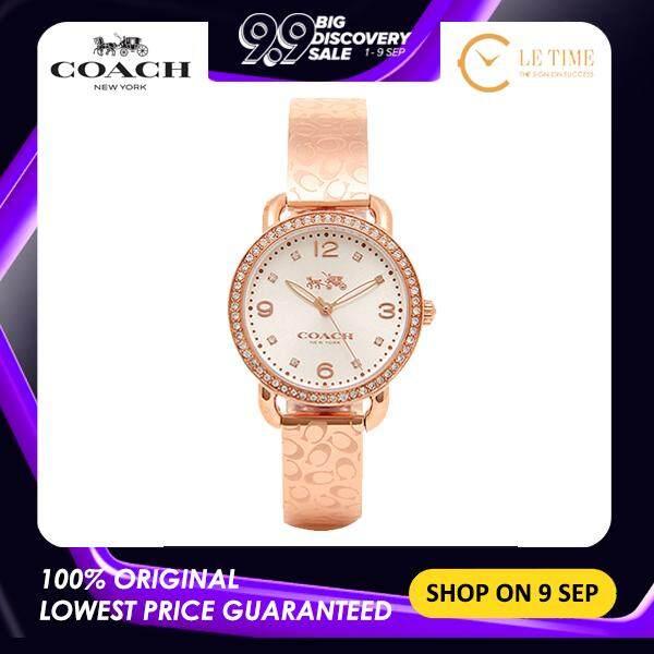 [Authentic] Coach Delancey Rose Women Ladies Fashion Watch Jam Tangan Wanita - 14502355 Jam Tangan Wanita Malaysia