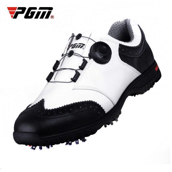 Giày Chơi Golf PGM Cho Nam Và Nam, Giày Thể Thao Chơi Gôn, Giày Dây Giày Xoay Tự Động, Chống Trượt, Không Thấm Nước, Thoáng Khí giá rẻ