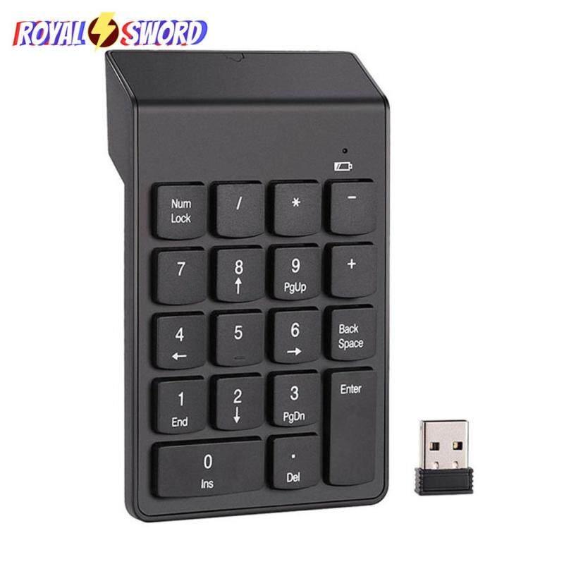 Wireless Numeric Keyboard Laptop Notebook Tablets Portable 2.4GHz Digital Keyboard Numpad Singapore