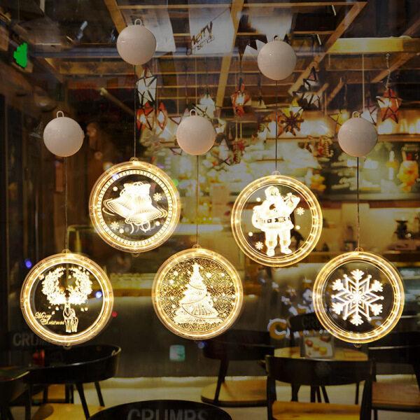 Bảng giá Dây Treo Tranh Trang Trí Cây Giáng Sinh Đèn Treo Trang Trí Gia Đình Đèn LED Treo Rèm Đèn LED Giáng Sinh Trang Trí Giáng Sinh Ngoài Trời Chống Nước