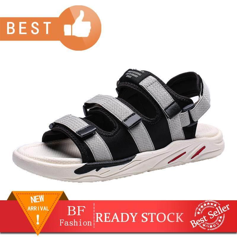 420e6eddb10fb Men Breathable Flat Sandals Men Fashion Waterproof Shoes Casual Beach Shoes  Rubber Walking Shoes Size 39-44
