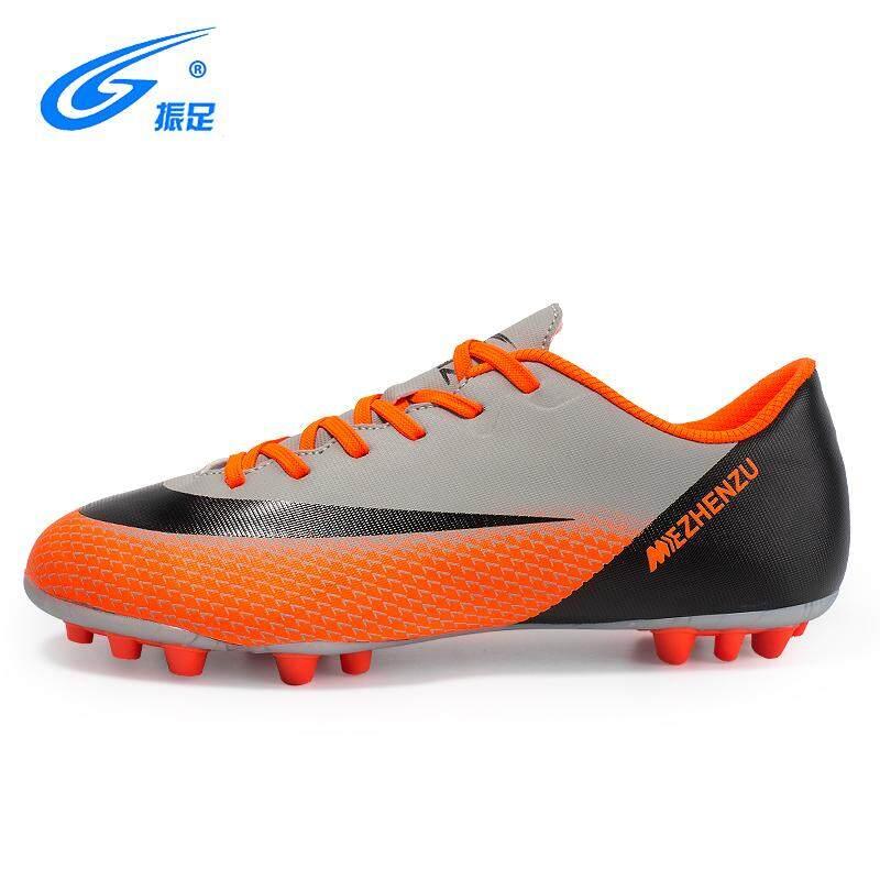 ผู้ชายกีฬากลางแจ้งรองเท้าฟุตบอลมีปุ่ม World Cup Trainers ขายดีฟุตซอลรองเท้าบูทฝึกฟุตบอล By Riney.